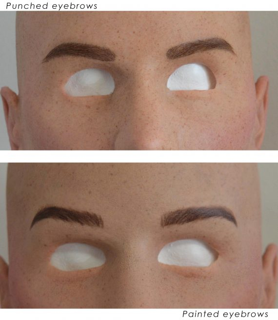 Eyebrows-difference